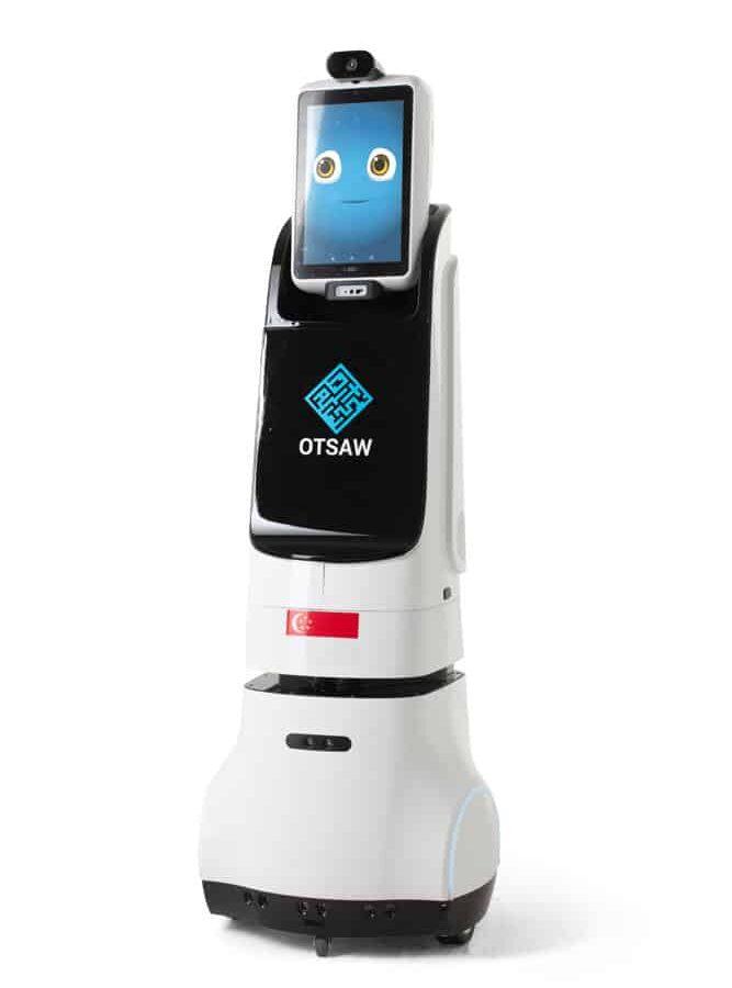 O-R2 concierge robot front view