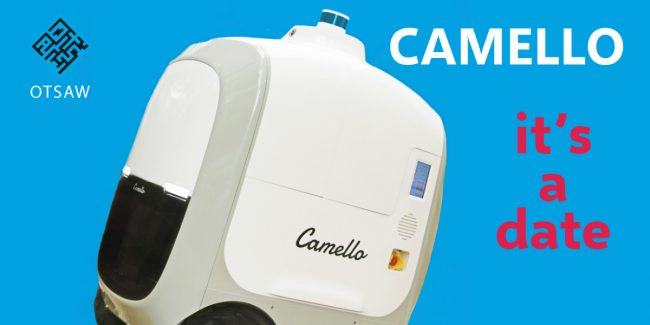 CAMELLO delivery robot